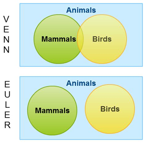 what is a euler diagram venn diagrams vs euler diagrams explained with exles