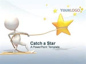 catch a star a powerpoint template from presentermedia com