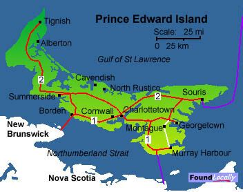 pei map on transcanadahighway