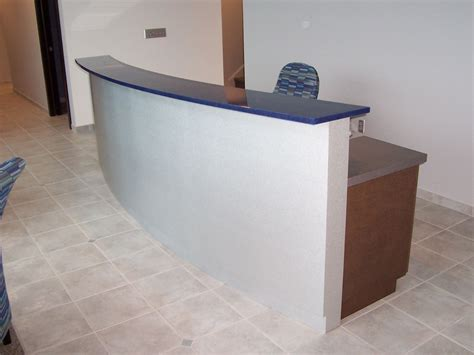 custom made reception desk by mica shop custommade com