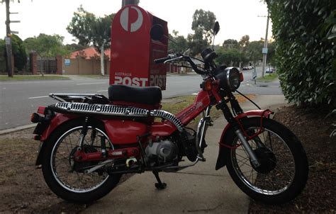 Postie Bike Review! Honda CT110! Australia Post Bike