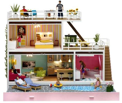 doll house brisbane introducing kids to conspicuous consumption