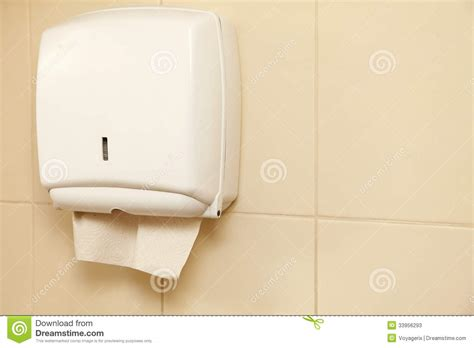 bathroom paper towel dispenser paper towel dispenser in the bathroom stock photos image