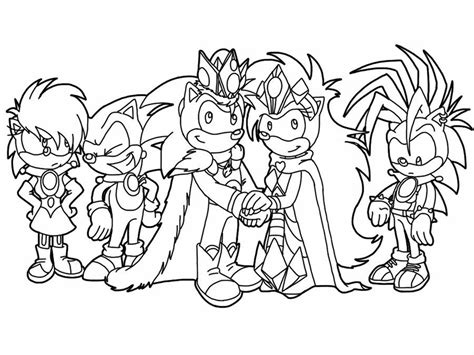 sonic unleashed coloring pages coloring home