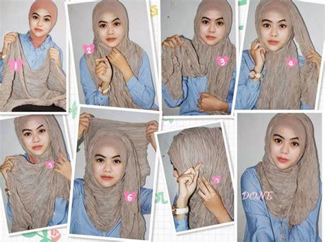 gambar tutorial hijab modern syar i gambar tutorial hijab modern syar i