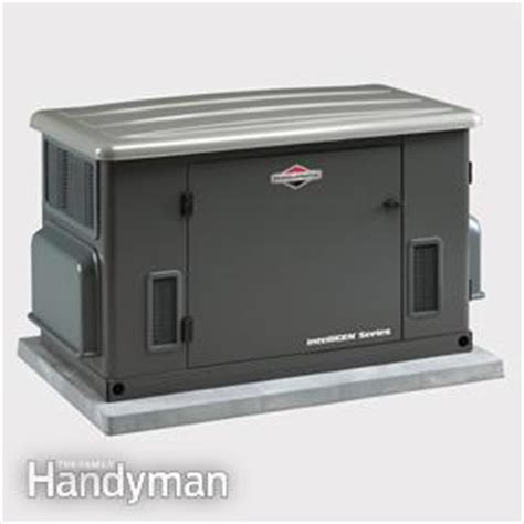 choosing the best generator family handyman