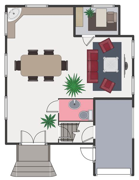 draw my floor plan modern house