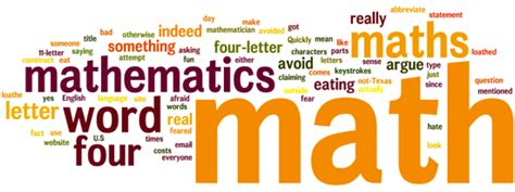 Meaning Of Mathematics Per Letter image gallery math words