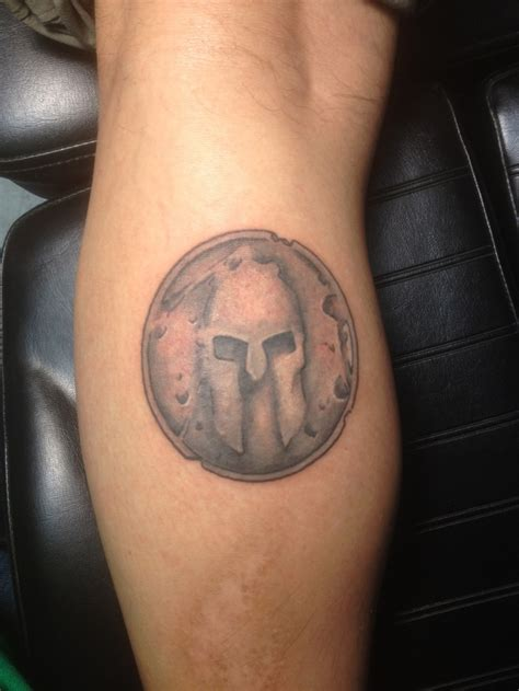 spartan shield tattoo spartan race spartan ink simple my