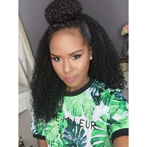 half up half down hairstyles for black hair curly half up half down bun hair pinterest follow me