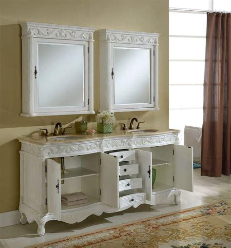 tuscany bathroom vanity 72 quot tuscany antique white double sink bathroom vanity