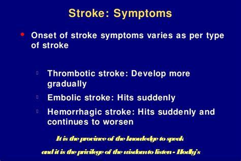 symptoms of a light stroke management of stroke three to twenty four hours