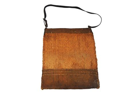 Feed Bag by 19th Century Or Cattle Feed Bag Omero Home