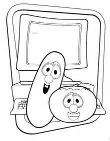 veggie tales coloring pages veggie tales coloring pages for gt gt disney coloring pages