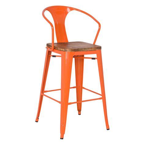 orange counter chairs metro modern orange counter stool eurway furniture
