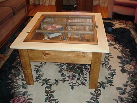How To Make A Shadow Box Coffee Table Coffee Table Shadow Box Plans Woodplans