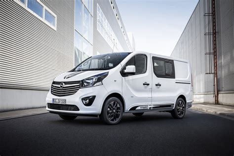 opel vivaro opel vivaro sport gives big van a more aggressive look
