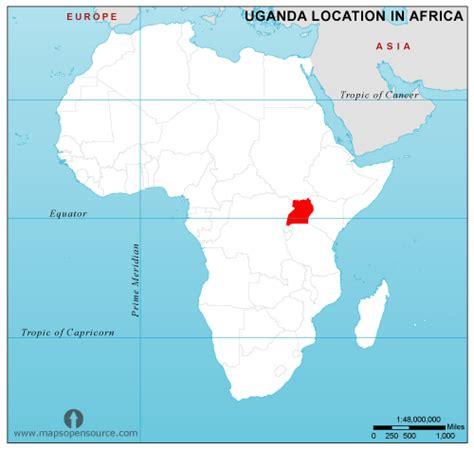 uganda on world map free uganda location map in africa uganda location in