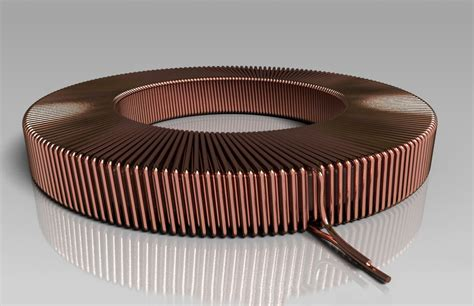 toroidal air coil inductance toroidal coil parameter driven step iges autodesk inventor 3d cad model grabcad