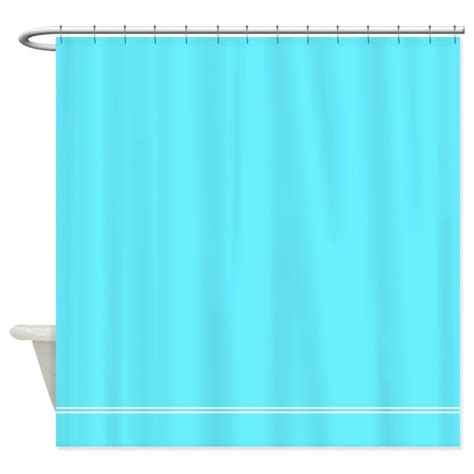 Bright Shower Curtains Bright Blue Shower Curtain By Inspirationzstore