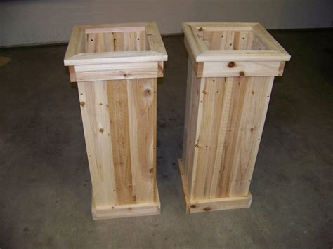 Wooden Planter Boxes Designs by Fd Cool Wood Raised Planter Box Plans