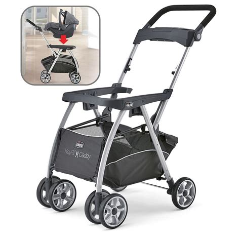chicco car seat caddy lowest price on chicco keyfit caddy stroller frame