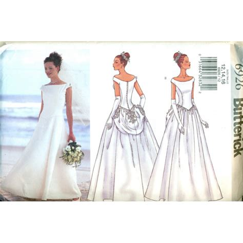 sewing pattern wedding dress wedding dress sewing pattern butterick angel elegance