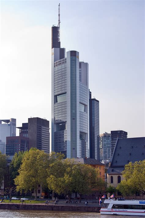 bank in frankfurt commerzbank tower