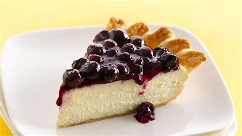 Pie Cheese Blueberry Mini fresh blueberry cheesecake pie recipe from betty crocker
