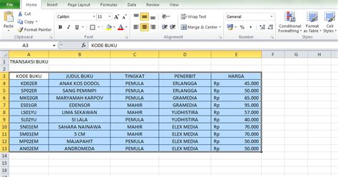 contoh fungsi vlookup fwsung