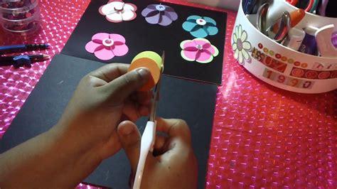 rosarios hechos como manualidades como hacer flores de papel 3d original youtube