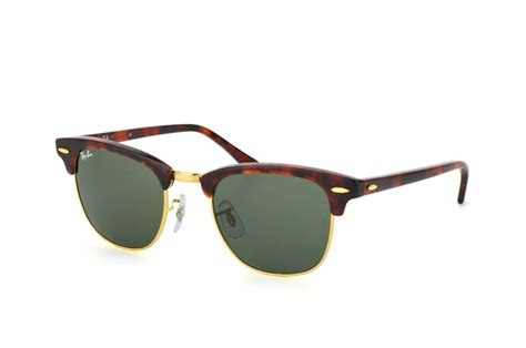 ray ban rb 3016 w0366 clubmaster arista sunglasses