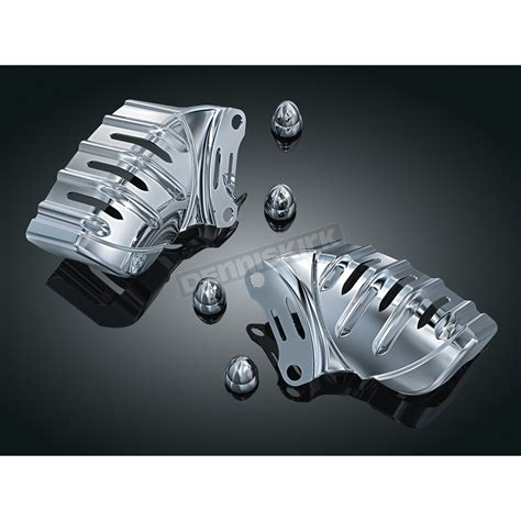 Cover Caliper Bikers N250 kuryakyn brake caliper covers 7789 harley davidson motorcycle dennis kirk