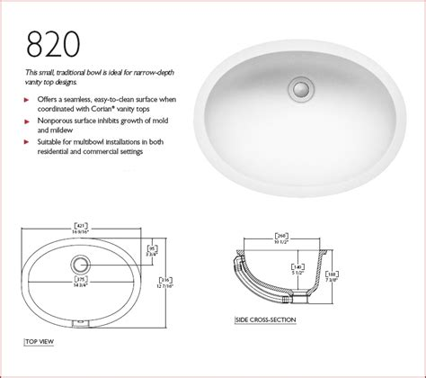 nantucket plus corian 810 sink bowl and more - Corian 820 Sink