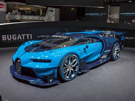 Bugatti Vision Gran Turismo Concept revealed   Kelley Blue