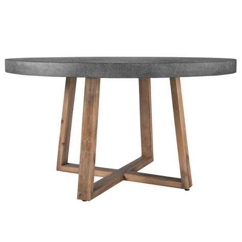 table ronde r 233 sine et bois 140 cm koya design