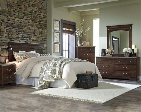 American Freight Bedroom Set by Classic Cherry Brown Wood Bedroom Suite Allegra Bedroom