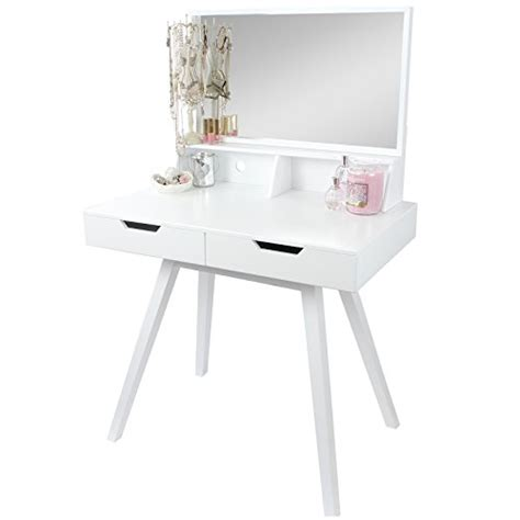 Modern Vanity Table With Mirror And Bench by Hartleys White Modern Dressing Table Mirror Search