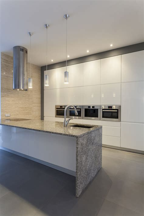 Remodel Kitchen Island Top Reasons For Waterfall Kitchen Islands