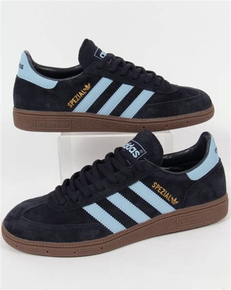 Adidas Ad027 Light Blue Brown adidas spezial trainers navy argentina blue originals