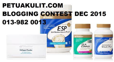 Collagen Shaklee Malaysia petuakulit blogging contest disember 2015 shaklee