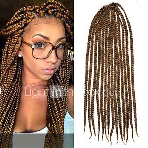 light in the box weave light brown senegal crochet twist large box braids 24