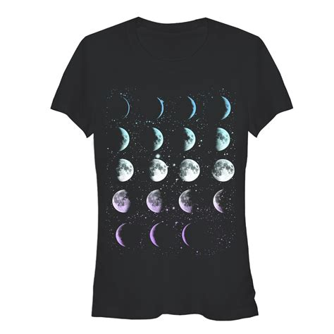 T Shirt Moon junior s moon phases t shirt