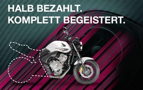 Honda Motorrad Finanzierung 50 honda 50 50 finanzierung verl 228 ngert motorrad rei