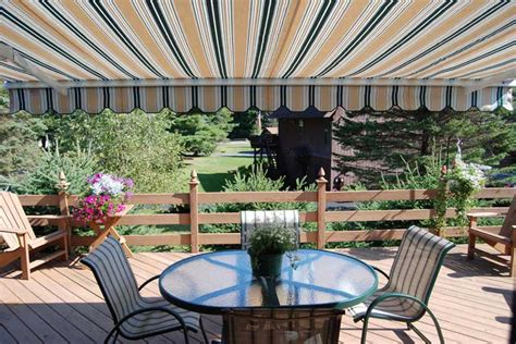 Fabric Awnings For Patios Retractable Awnings The Awning Company