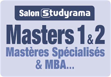 Msc Mba Difference by Samedi 3 Septembre Le Salon Studyrama Des Masters 1 Et 2