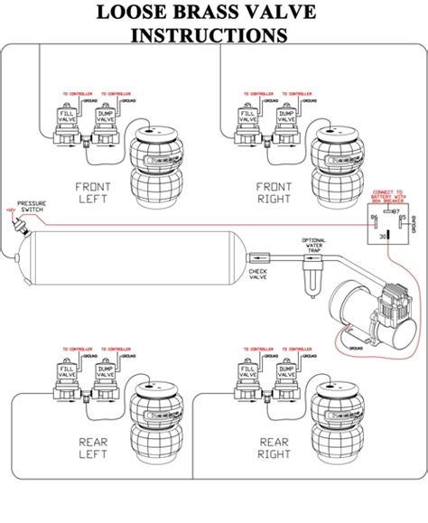 air ride plumbing diagram plumbing and piping diagram