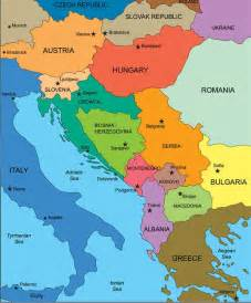 Albania Map In Europe by Map Of Albania Republic Of Albania Maps Mapsof Net
