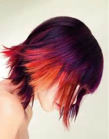 multi color hair dye 15 cool funky hair styles hairstyles 2016