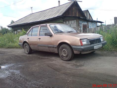 Opel Ascona For Sale by 1986 Opel Ascona Pictures 1 6l Gasoline Ff Manual For